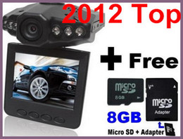 Wholesale Car DVR IR Vehicle DVR HD Recorder with Free GB memeroy and Adapter