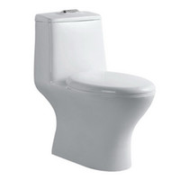 One Piece Siphon Flush Toilet of High Temperature Ceramic (6...