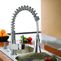 Professional and Stylish Brass Kitchen Faucet with Chromium ...