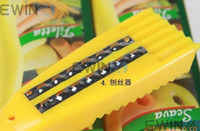 Wholesale 5 in Fruit Corer Potato Carrot Peeler Grater Yellow