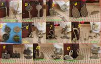 Wholesale Retro Ancient bronze ZAKKA ornaments pendants fill necklace styles optional