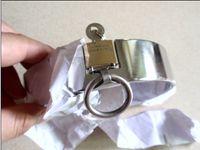 lock collar - Female Stainless Steel size cm plum lock Collar Dog Collars plum lock bdsm sale
