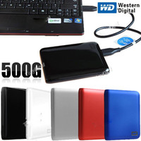 Wholesale Portable GB quot USB Super Speed Mobile Hard Disk Drive HDD for Laptop Desktop