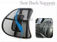 Wholesale New Hot car massage lumbar mat lumbar cushion massage pad Black mat seat back support