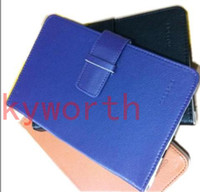 Wholesale 7 Leather Case Cover for Android Tablet PC Ainol NOVO Aurora VIA8650 Epad Netbook