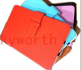 Wholesale 7 Leather Protective Case for Android Tablet PC Ainol NOVO Aurora VIA8650 Epad Netbook