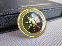 Wholesale Quantum Science shield anti radiation Mobile phone sticker silver golden