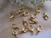 Wholesale plated gold lobster Clasps mmx6mm