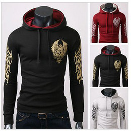 Wholesale Latest Style Men s Cotton Blends Printing Hoody Popular Men s hoodie