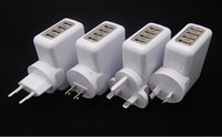 Wholesale Travel Ports USB Wall Home AC Charger Adapter for Mobile Phone and other USB device