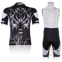 Wholesale 2012 New Ghost Wolf Short Sleeve Cycling Jersey Bib Shorts
