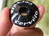 Wholesale CERVELO Top Cap Carbon Fiber Stem Headset Top Cap bicycle accessories