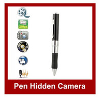 Wholesale MP9 Pen Camera Audio Video Record recorder pen driver GB Mini Video Camera DVR Hidden Spy Camera