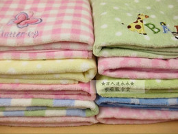 Wholesale Boys and girls siesta blanket Multi color pattern Baby hold hold to be coated blanket Fleece soft