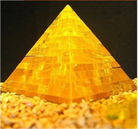 Wholesale 3D Puzzle Pyramid Crystal Jigsaw Puzzle DIY Toys Novelty Games educational Toys
