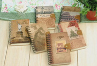 Wholesale Stationery Diary Book Notepad Notebook Memopad Agenda Travel Planner Journal Antique vintage style
