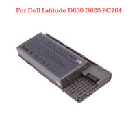 Dell Li-Ion 6 Replacement Laptop Battery For Dell Latitude D630 D620 PC764 Silver Ship From USA 10pcs lot N3432