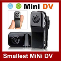 Wholesale 720x480 FPS MD80 spy Mini DV DVR Sport Video Camera webcam Hidden Camera Camcorder