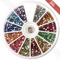 Nail Art 3D Decoration Nail Art Rhinestones  New 2014 Supernova Sale 3d Nail Art Rhinestones Decoration For UV Gel Acrylic Systems 1.5mm Flatback A001