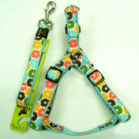 Nylon Pet Dog Harnesses and Leashes with Lovely Style from P...