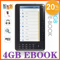 Wholesale 20 Discount inch GB GB E Book Readers X480 ebook reader