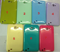 Wholesale new luxury jelly soft TPU case for Galaxy Note i9220 N7000