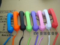 Wholesale Native Union Reduce Radiation Phone Handset With volume control for iphone S ipad New ipad