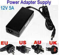 Wholesale HOT SALE AC100 V to DC V A W Power Supply Adapter Cord for LCD LED Stirp Balance changer