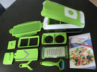 Wholesale Genius Nicer Dicer Plus piece per set Multi Chopper New Kitchen Slicer