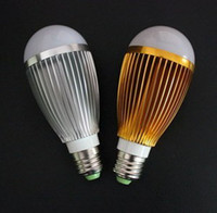Wholesale E27 Screw W Globe Ball LED K Warm White Light Bulb Led Lamp Sportlight V V V