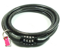 Wholesale Digital Bicycle Code Combination Lock Cable TY53