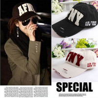 Wholesale Hot Selling Korean men women baseball caps fashion sports brand hats new style snapback hats