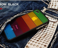 No Silicone For Apple iPhone Rainbow Hard plastic Back Case cover for Lims Lim's for phone white case flexible TPU bumper 5ps