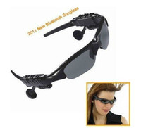 Wholesale New GB Headset Mp3 sunglasses mp3 player sunglasses Sun Glass without camera sunglasses Sun Glass