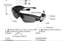 Wholesale 4GB TF Headset Mp3 sunglasses mp3 player sunglasses Sun Glass without camera sunglasses