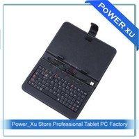 Other zt-180 - New Keyboard Leather Case for inch via Epad X220 ZT Tablet PC MID Stand