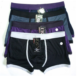 Wholesale new men s sexy soft bamboo fiber underwears trunks free ship