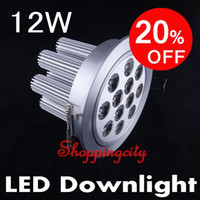 XL 12W led ceiling light high power 85- 265V downlights 1200L...