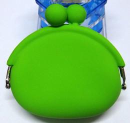Wholesale POCHI Cute Silicone Coin Purses Wallet Rubber Wallets Bag Case Colors