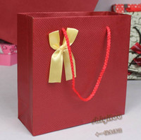 Wholesale Korean style handbag gift bag wrapping bag paper bag medium