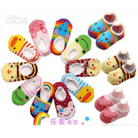 Wholesale Baby Boat Socks Children s Shoes Antiskid Non slip Bottom Cartoon cm