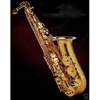 Wholesale NEW Gold Tenor Saxophone Perfect Selme Abalone shell KEY Tenor Saxophone Abalone shell KEY