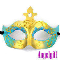 Wholesale Free ship halloween mask mask for christmas halloween gift masquerade party mask Cnmk014