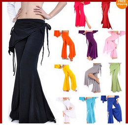 Wholesale Women Yoga Tribal Belly Dance Costume Pants Bu7