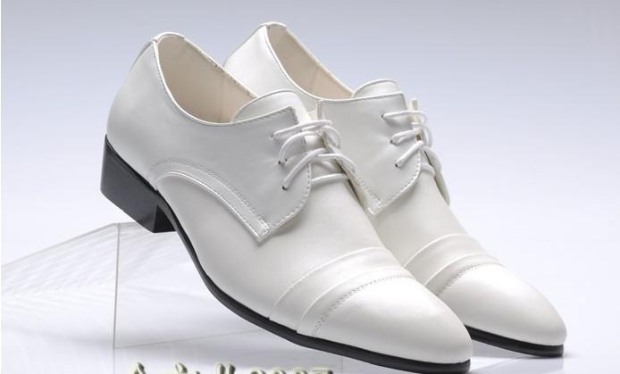 fast shipping white lace s wedding shoes leather shoes
