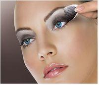 Wholesale 2012 new fashion violence leopard grain instant eye shadow stickers Temporary eye shadow sticker
