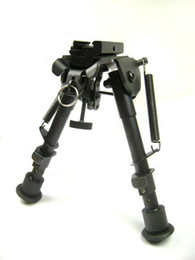 Wholesale NEW UTG Tactical Bipod SWAT Combat Profile Telescoping amp Folding Legs quot quot rifle T POD Bipod Fore