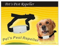 Wholesale With retail package Ultrasonic Flea pest repeller For dog cat pet pets
