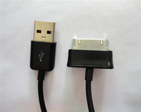 Wholesale DHL P1000 cable data charging cables USB Sync for Samsung Galaxy Tab M Black