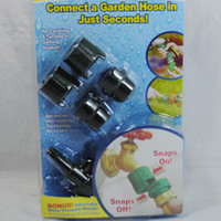 Wholesale Snap Garden Hose Connectors with Bonus Nozzle